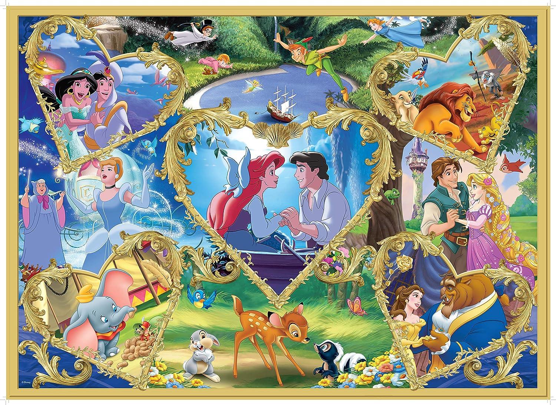 Blue Carton KING 55829 Disney Movie Magic Jigsaw Puzzle 1000-Piece