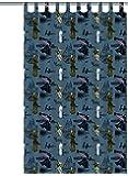 Star Wars 829227 Rideau prêt à poser Coton Gris 250 x 140 x 1,5 cm