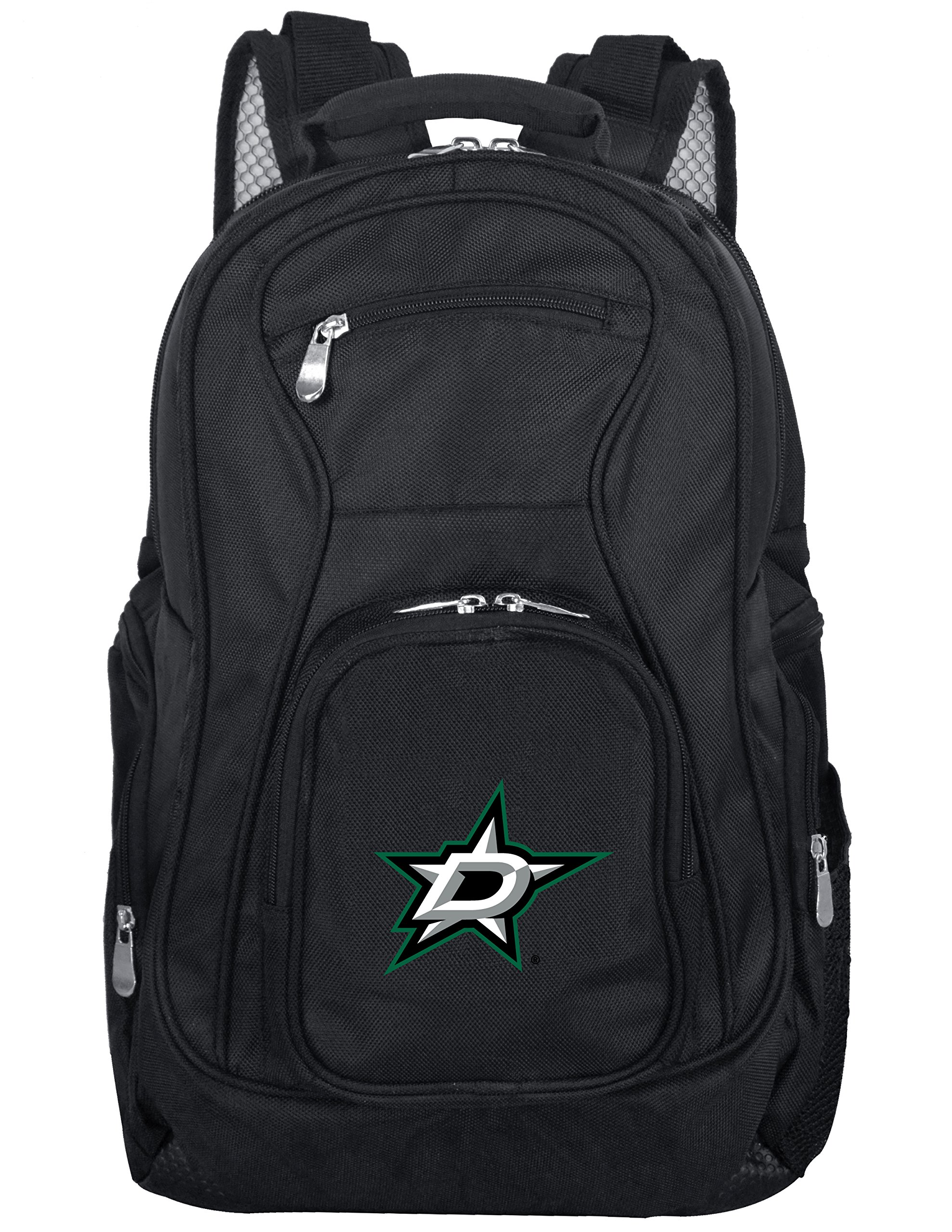 NHL Dallas Stars Voyager Laptop Backpack, 19-inches, Black