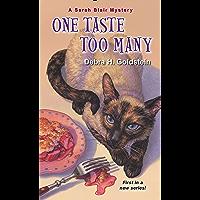 One Taste Too Many (A Sarah Blair Mystery Book 1)