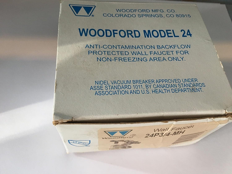 Amazon.com: Woodford 24P3/4-MH Model 24 Series Anti-Siphon Wall ...