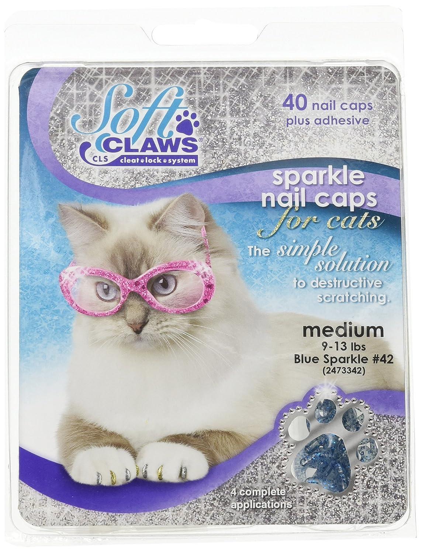 Amazon Feline Soft Claws Cat Nail Caps Take Home Kit Medium