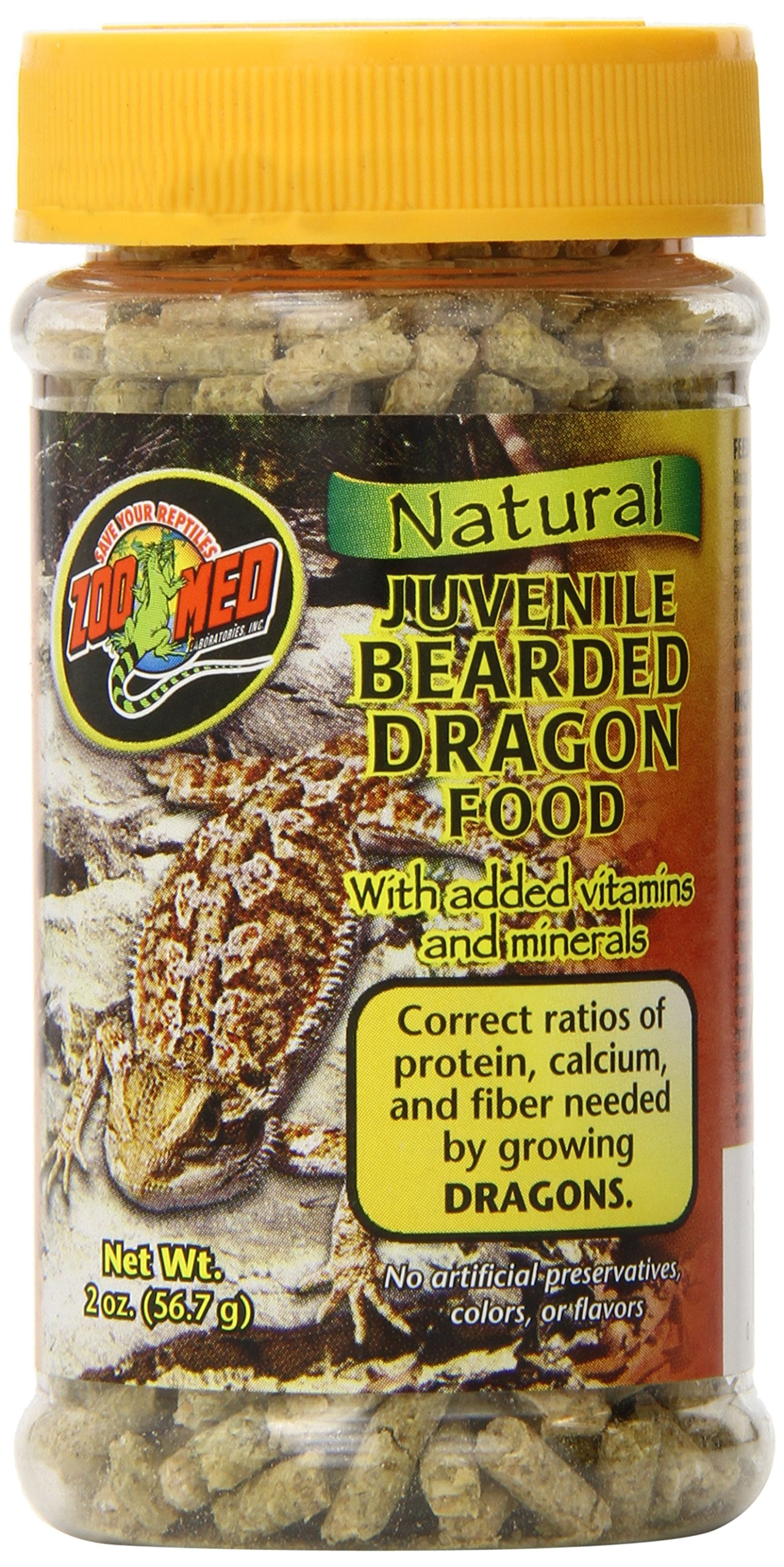 Zoo Med Laboratories SZMZM75 Beard Dragon Adult Soft-Moist Pellet, 2-Ounce