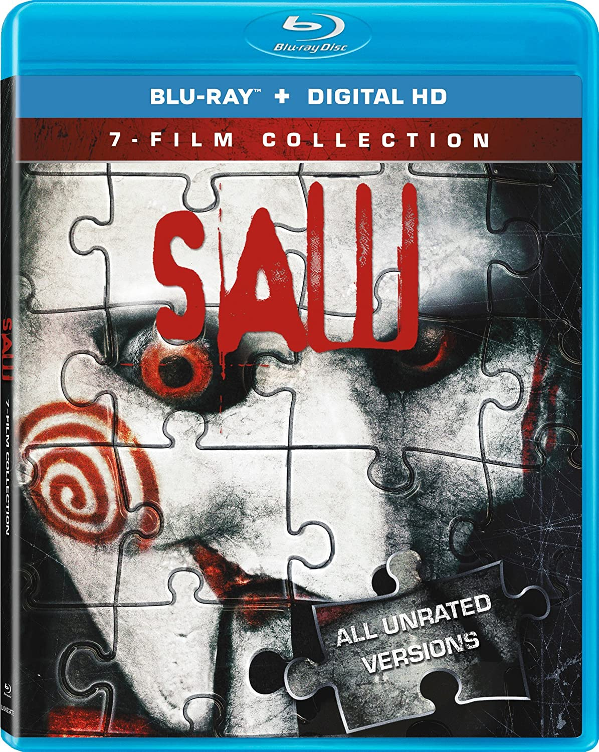 Saw 1 - 7 Movie Collection