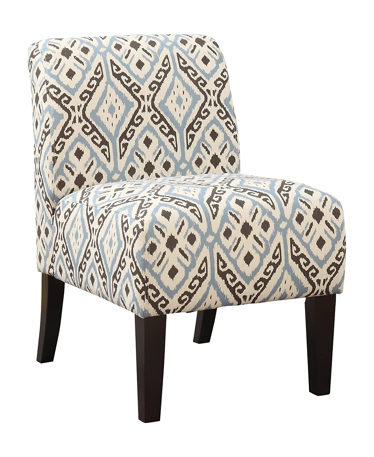 Awe Inspiring 1Perfectchoice Ollano Accent Chair Blue Evergreenethics Interior Chair Design Evergreenethicsorg