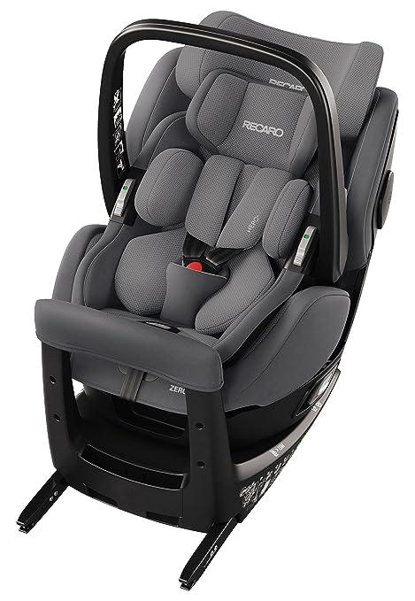 RECARO Zero.1, Silla de coche i-Size, gris aluminio