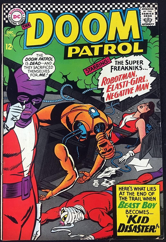 Amazon Com Doom Patrol 1964 108 Fn 6 0 Beast Boy Cover