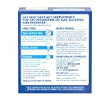 Lactaid Fast Act Lactose Intolerance Chewables with Lactase Enzymes, Vanilla Twist, 32 Pks of