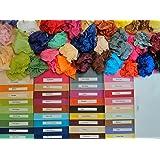 96 feuilles (soit 4 x 24 feuilles) de papier de soie Multi-Couleurs, 50x75cm, 18 grs