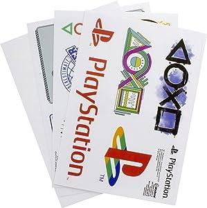 Paladone Playstation Gadget Decals - Reusable Vinyl Stickers - 20 pcs