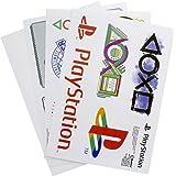 Playstation Gadget Decals Reusable Waterproof Stickers, Vinyl, Multi-Colour, 1 x 21 x 15 cm