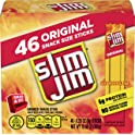 46-Count Slim Jim 0.28 oz Smoked Snack Stick Pantry Pack