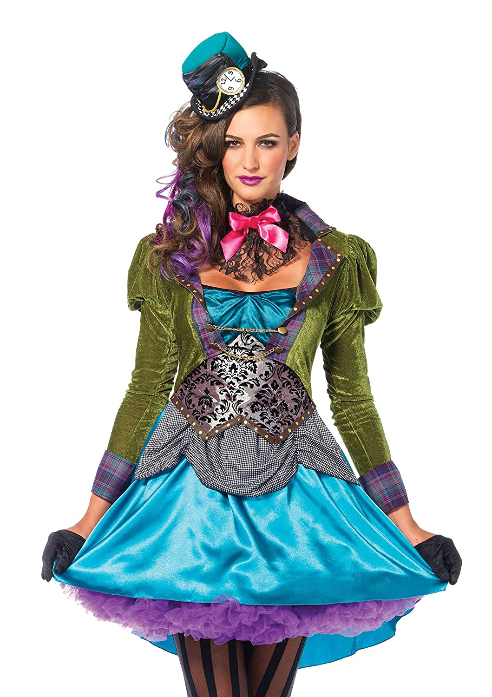Leg Avenue Women's Deluxe Mad Hatter Leg Avenue Costumes 8550503101-P