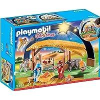 PLAYMOBIL Illuminating Nativity Manger