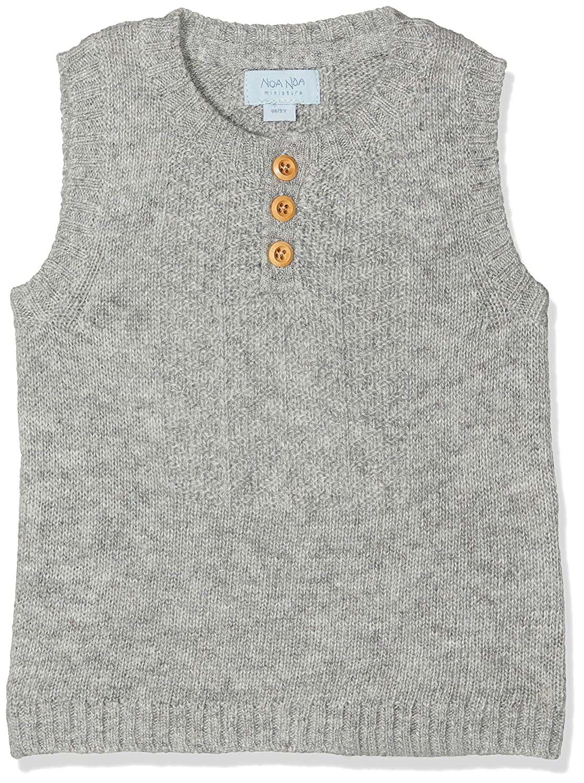 Noa Noa miniature Baby-Jungen Weste Boy Wool Knit 2-4747-1