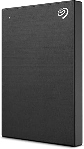 Seagate Backup Plus Slim 1TB External Hard Drive Portable HDD – Black USB 3.0 for PC Laptop and Mac, 1 year Mylio Create, 2 Months Adobe CC Photography (STHN1000400)