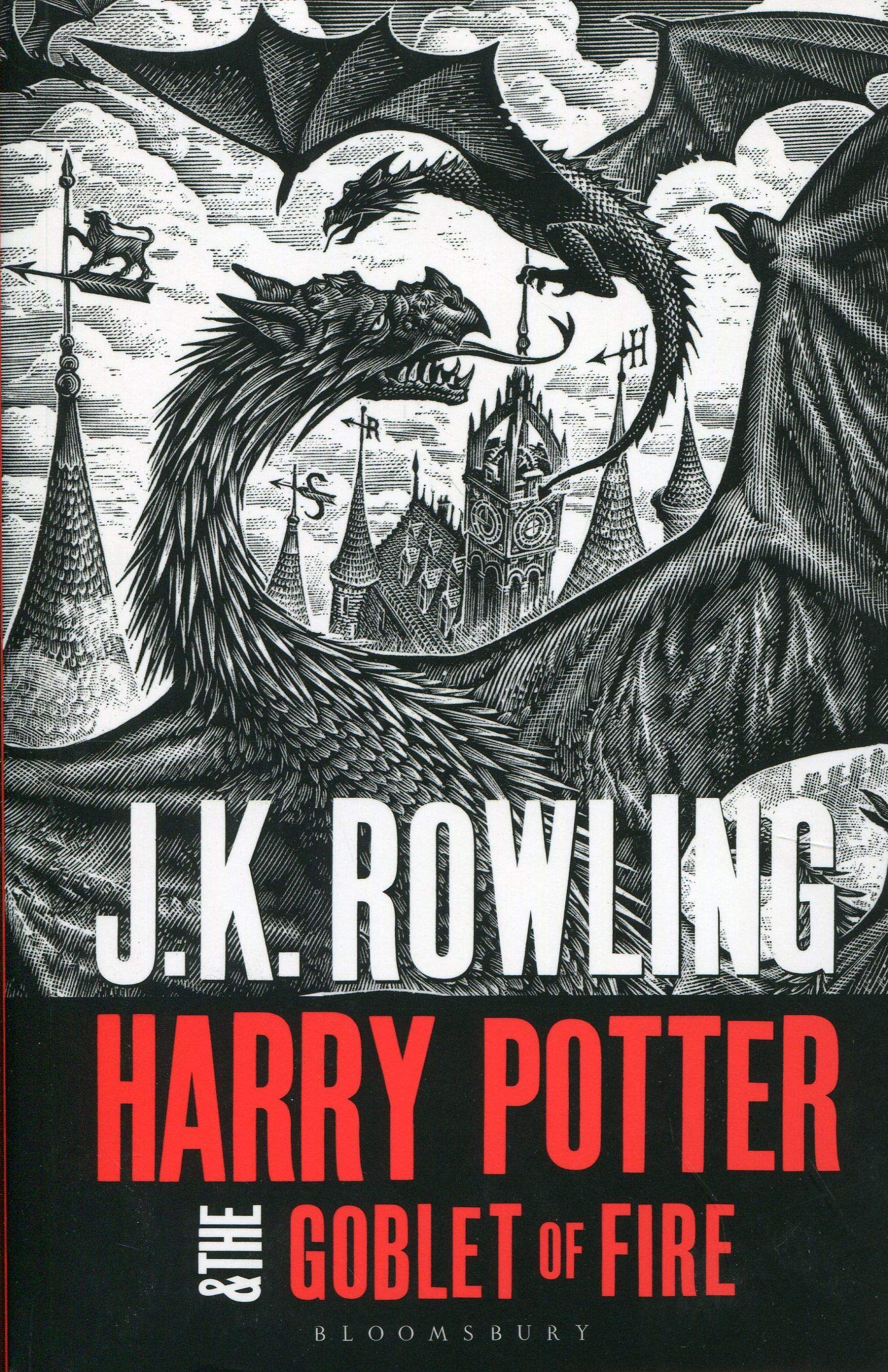 Harry Potter And The Goblet Of Fire (Harry Potter 4): Amazon ...