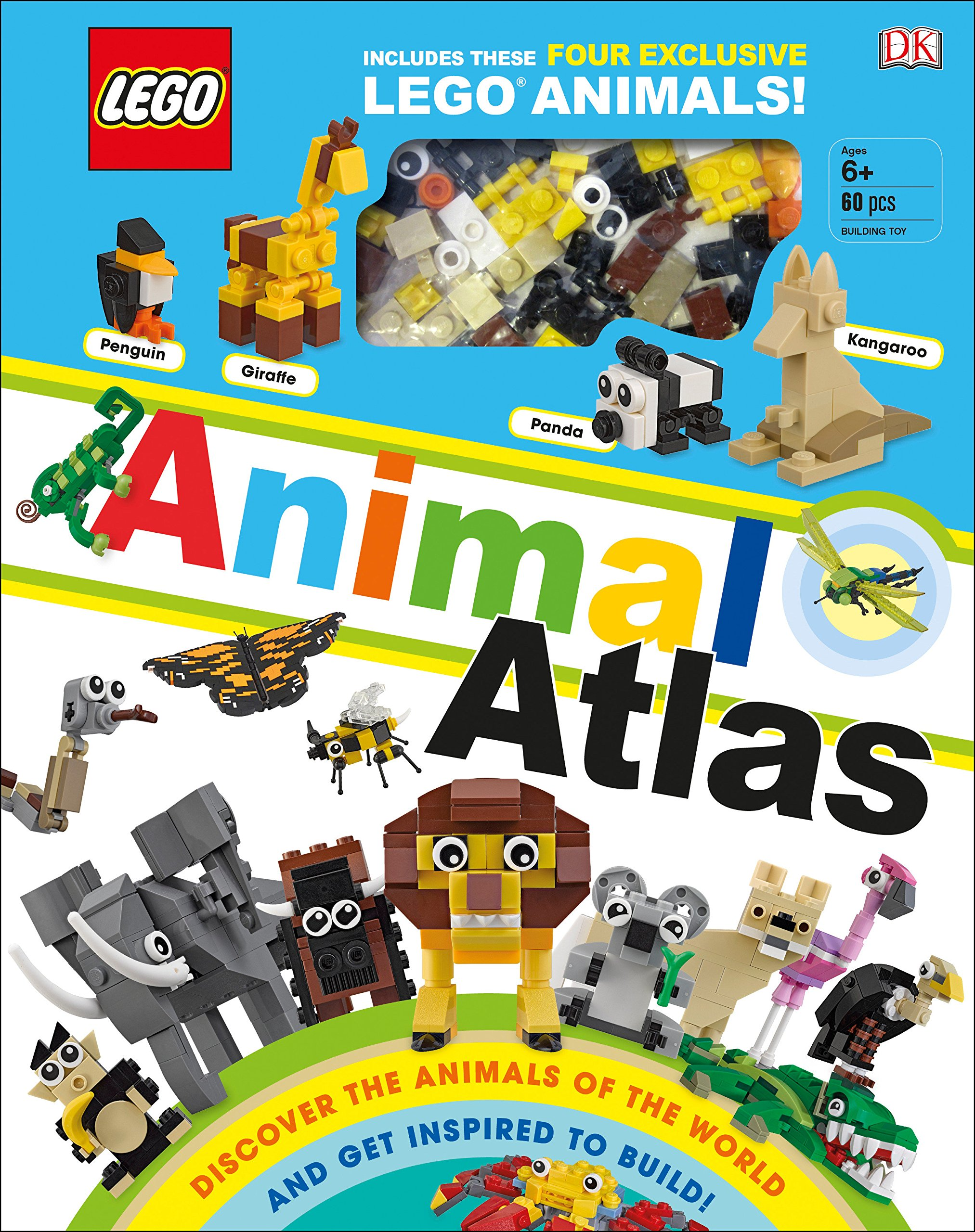 Lego Animal Atlas Discover The Animals Of The World And Get