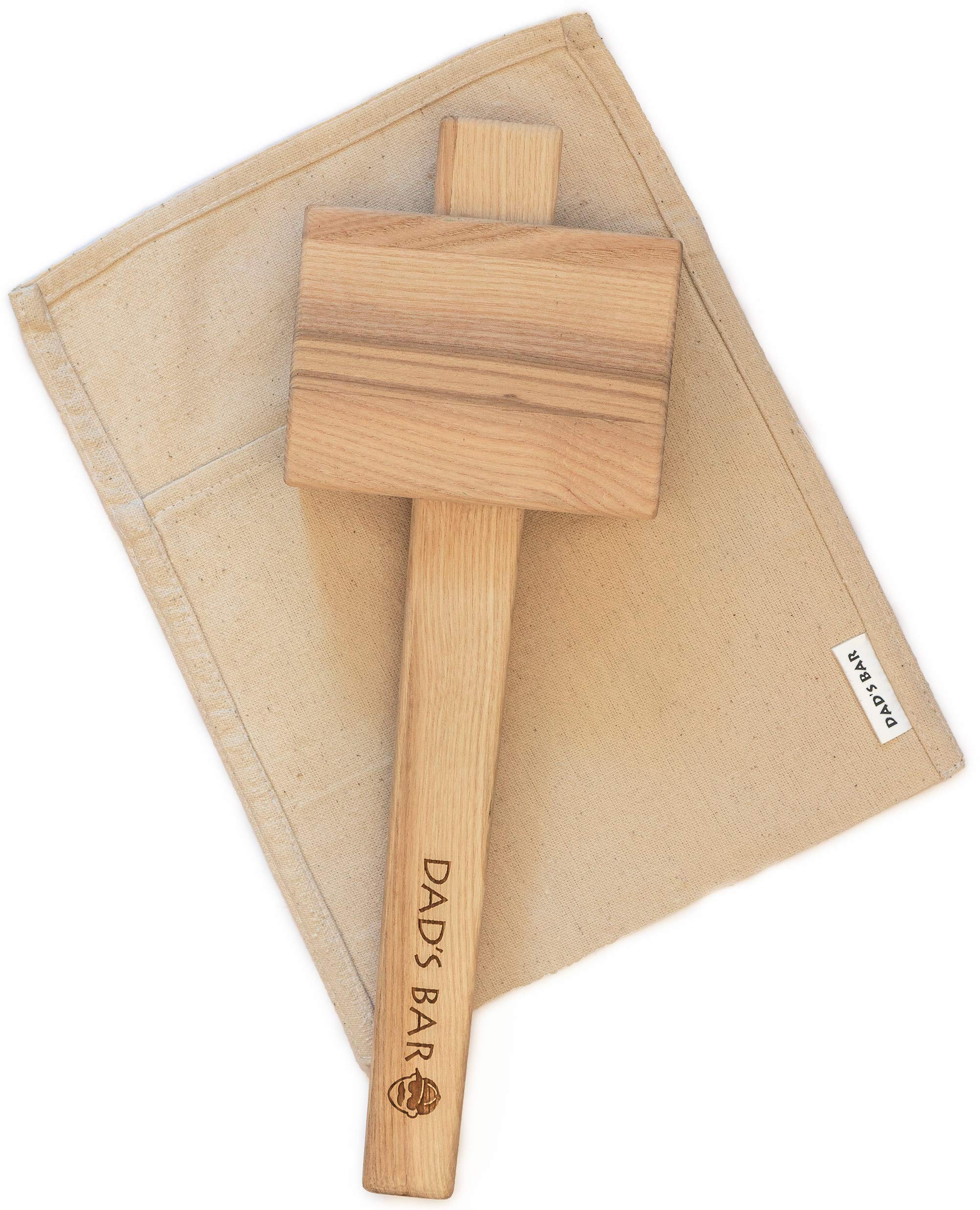 Lewis Bag and Ice Mallet effective and stylish manual Ice Crusher by Dad's Bar Large Mallet 14 Inches by Dad's Bar