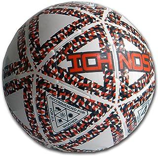 Ichnos Thaima Ballon Foot Futsal Rebond modéré Football en Salle Taille 4 Blanc Orange Bleu 001052-fba