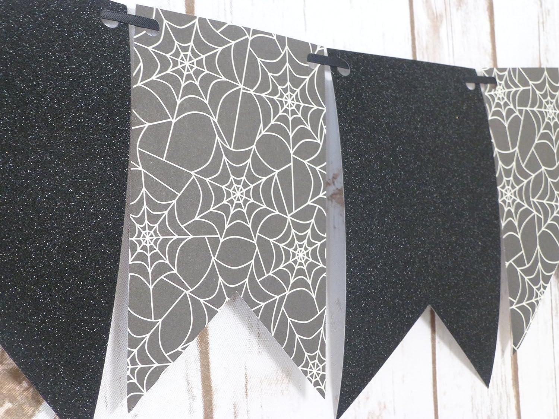 Amazon Spiderweb Banner Garland Halloween Decorations