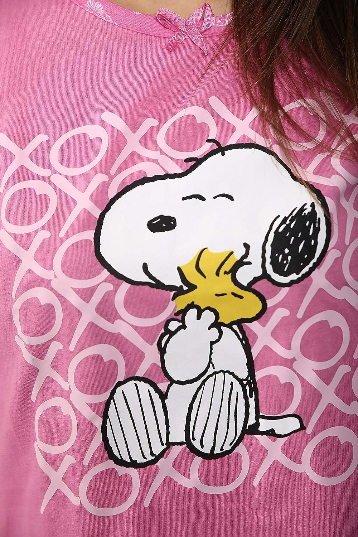 Ex High Street Brand Womens Pyjama Sets Shorts PJs Snoopy Pyjamas