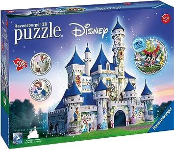 Ravensburger-00.012.587 Puzzles 3D Building Serie Maxi, Disney Fantasy Castle (12587): Amazon.es: Juguetes y juegos