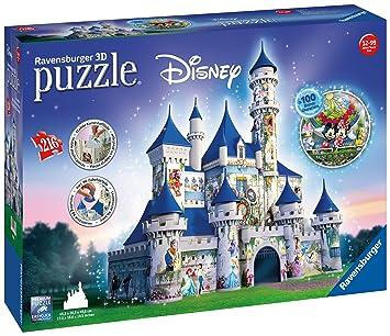 Ravensburger 12587 Disney Castle 216pc 3d Jigsaw Puzzle Amazonco