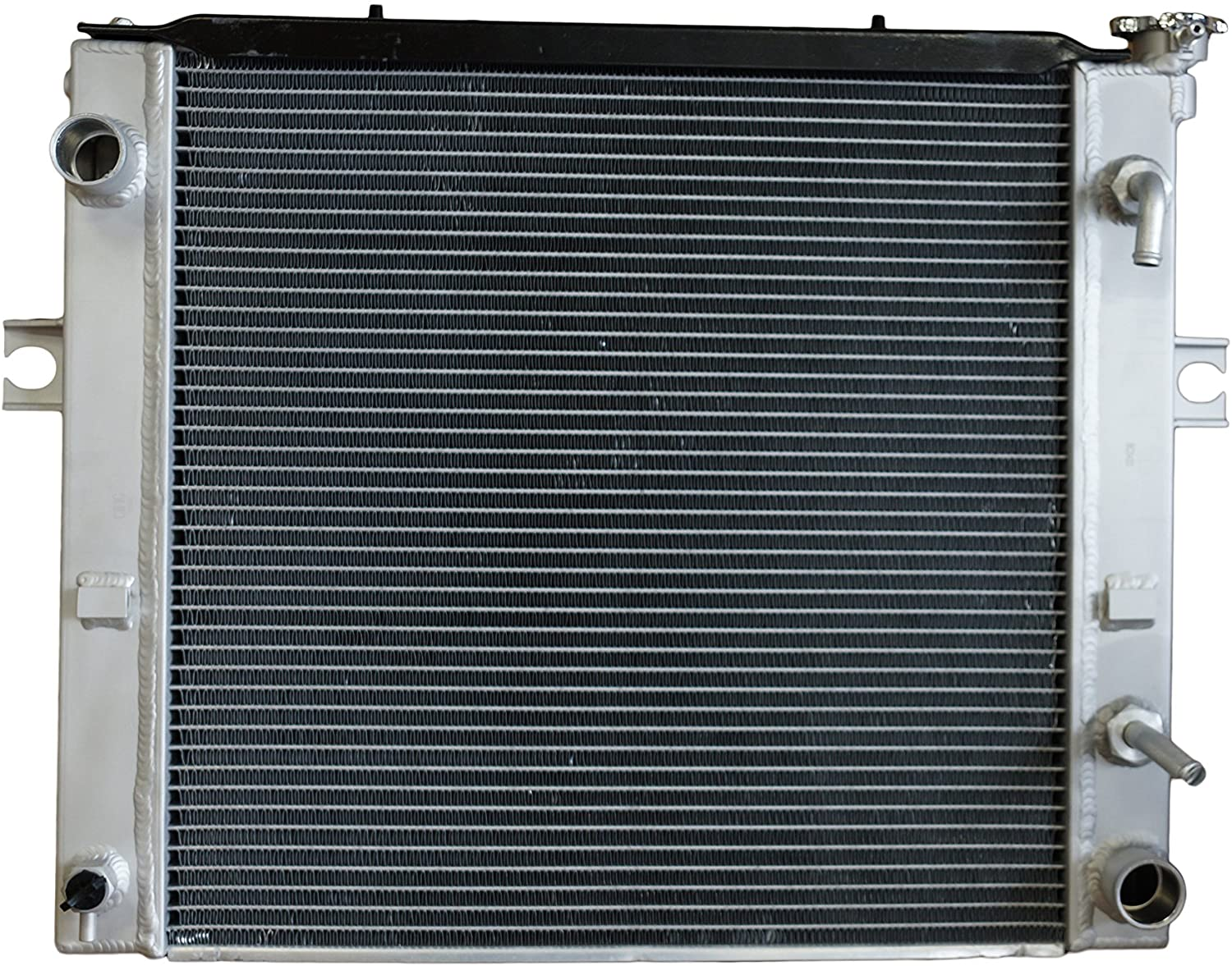 CIFIC B2024 Replacement Aluminium Radiator For Toyota Forklift 7FGCU25 16410U22071 16410U220171 16420F118071A