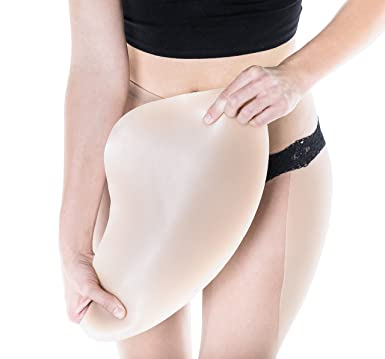 31294e0bdfb79 Sculptress Women s Silicone Hip Pads - Standard Length Size B Bronze Color