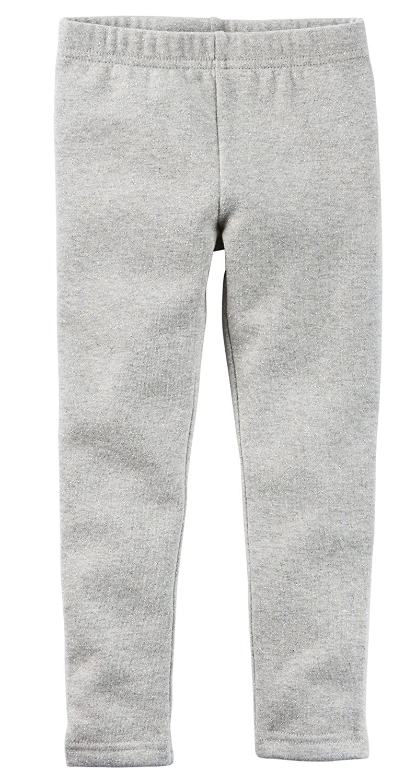 3 Months Carters Grey Girls Cozy Metallic Fleece Leggings