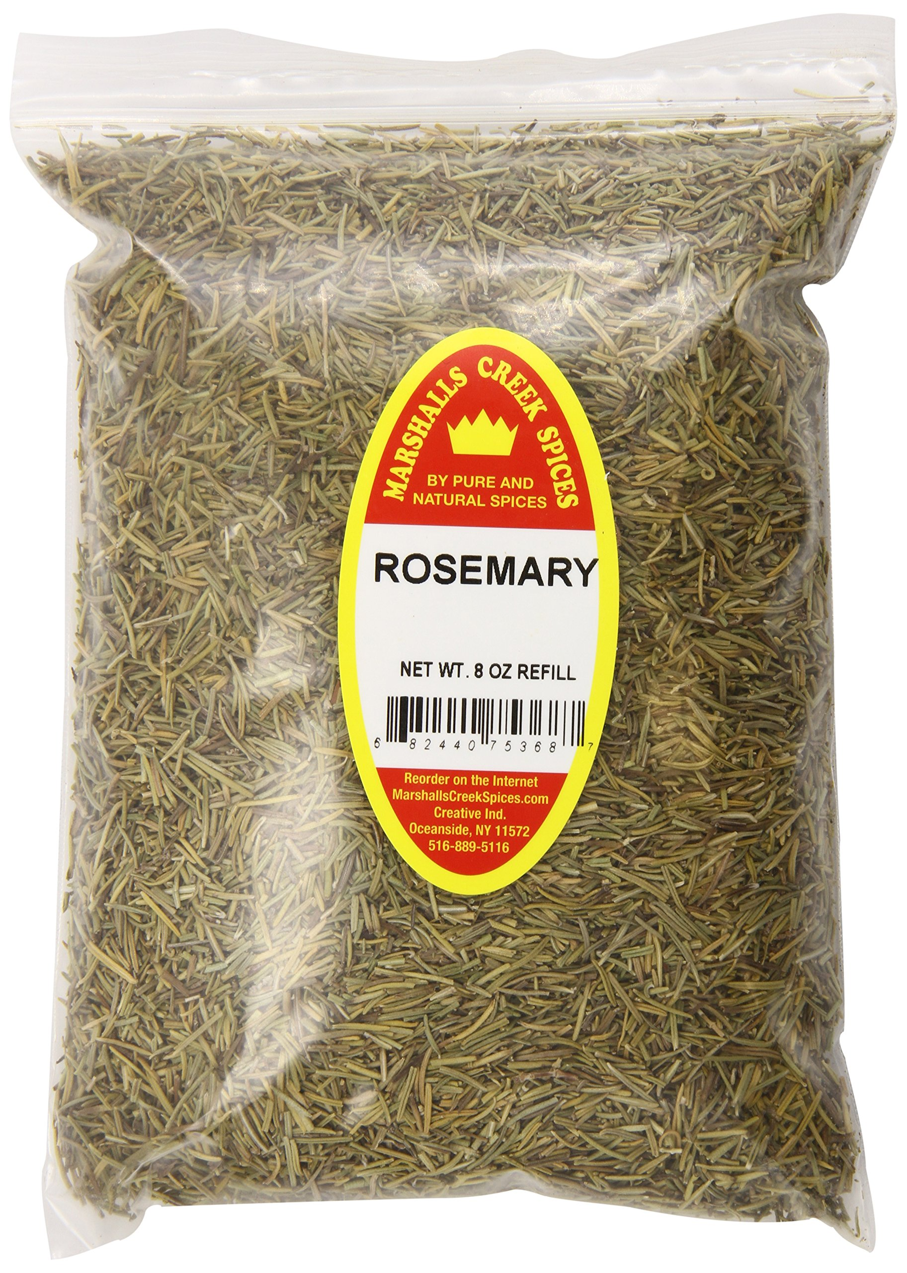 Marshalls Creek Spices X-Large Refill Rosemary, 8 Ounce