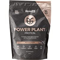 Prana On Rich Chocolate Power Plant Protein Powder, Rich Chocolate, 400 grams