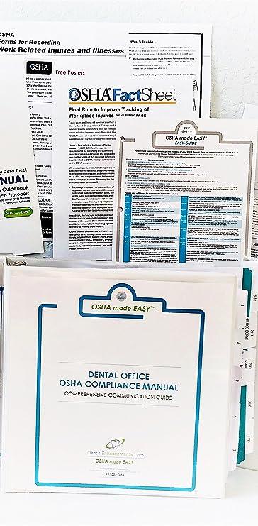 amazon com 2018 osha made easy osha ghs compliance manual for rh amazon com Dental Instrument Sterilization Dental Biomaterials
