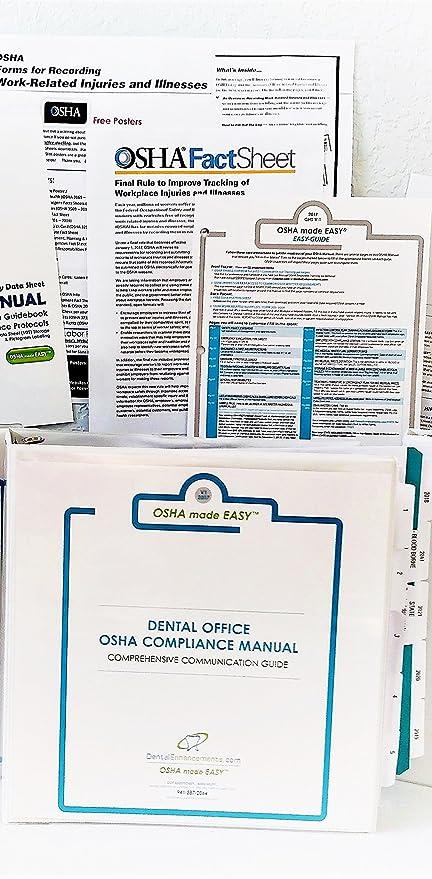 amazon com 2018 osha made easy osha ghs compliance manual for rh amazon com Dental OSHA Training Dental OSHA Training