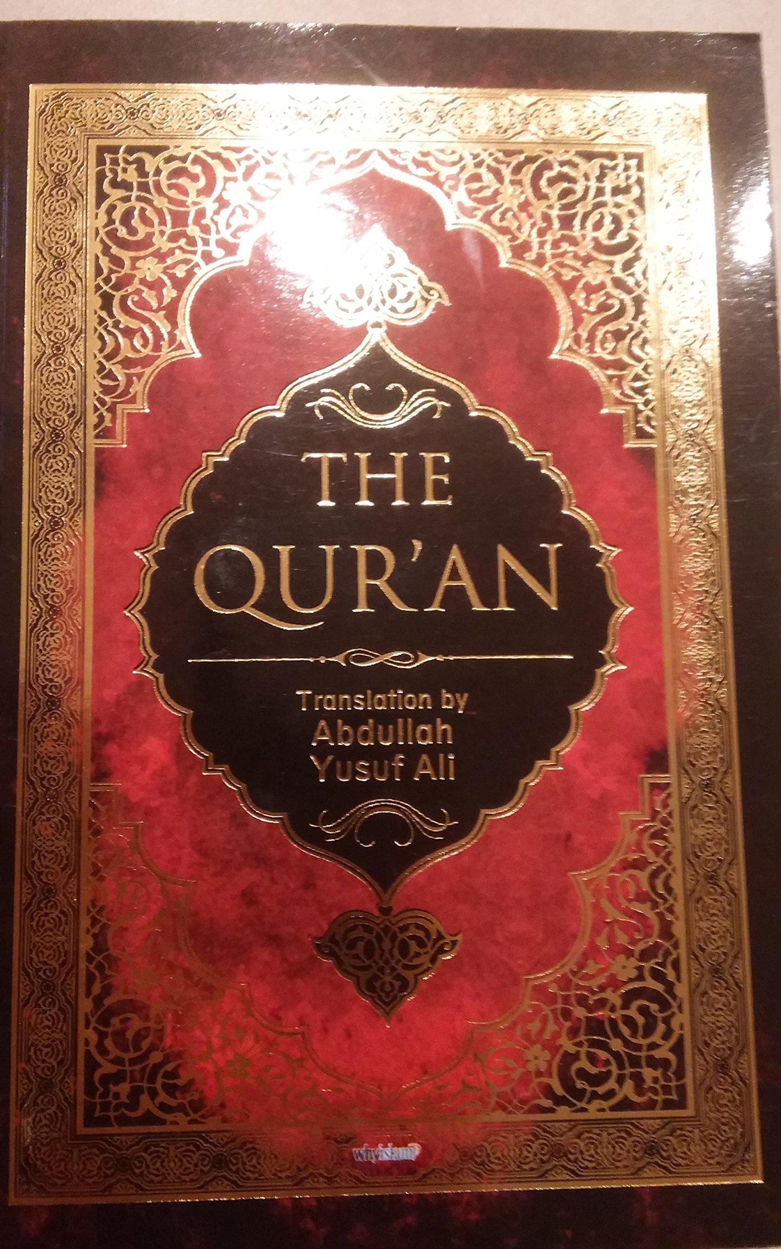 The quran translation abdullah yusuf ali 9781931445214 amazon com books