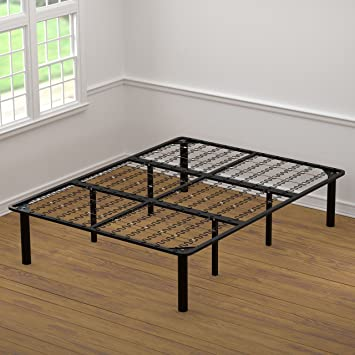 amazoncom handy living bed frame king kitchen dining