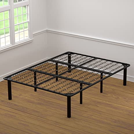 Amazoncom Handy Living Bed Frame Queen Kitchen Dining
