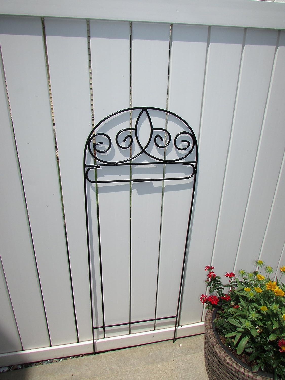 Custom Decor Garden/Mini Size Flag Arbor Fleur De Lis Design Stand 42 Inch
