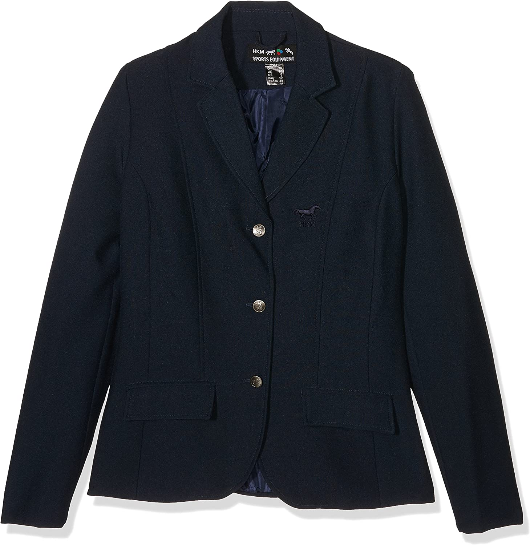 176 HKM Womens Marburg Jacket Dark Blue