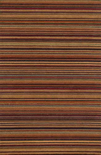 Loloi Rhodes Collection Area Rug, 3 6 x 5 6 , Spice