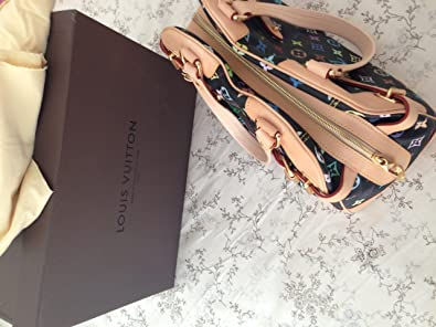 f6ca920b20fc8 Image Unavailable. Image not available for. Colour  100% Authentic Louis  Vuitton Multicolor Claudia ...