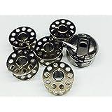 Porta-spolina per macchina da cucire domestica + 5 spoline, per Singer, Janome, Toyota, Pfaff