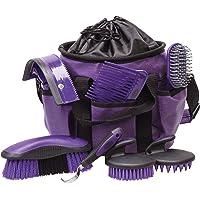 Weaver Leather 65-2055-k5Grooming Kit, Color Morado/Negro