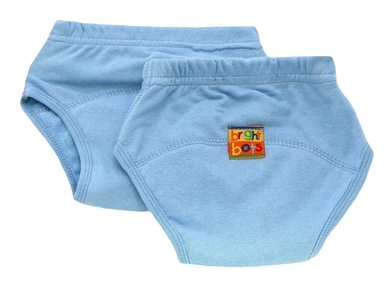 tama/ño mediano color azul 2/unidades /Pantalones de entrenamiento para el orinal Bright Bots/