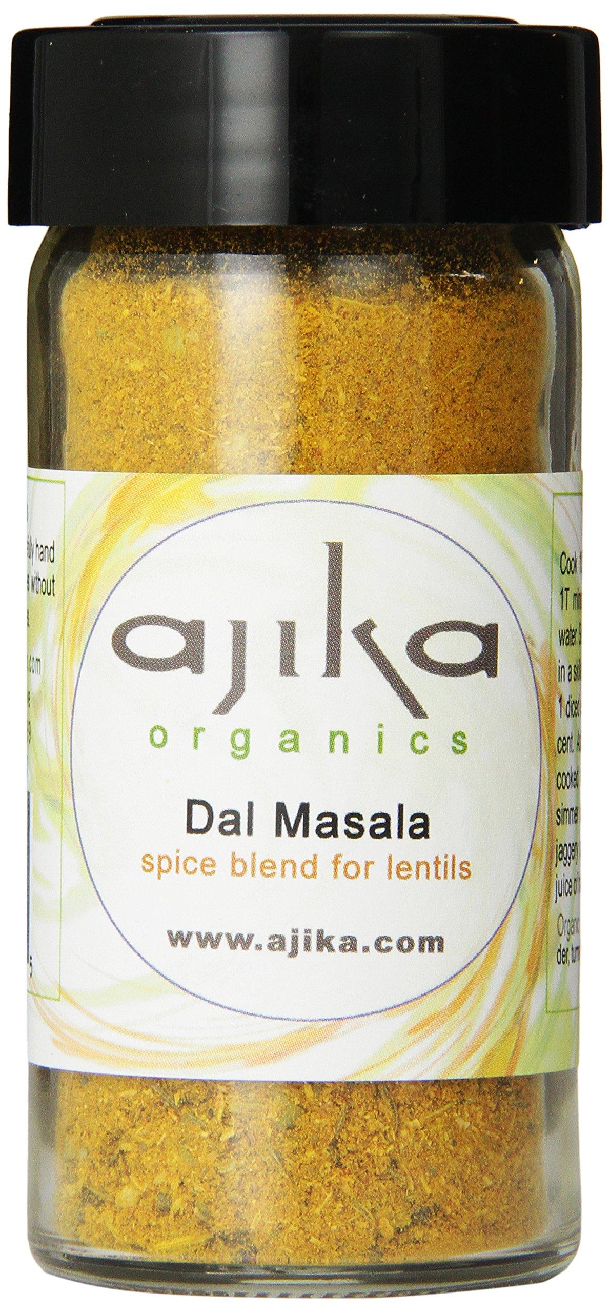 Ajika Organics Dal Masala, Spice Blend for Lentils, 1.8-Ounce