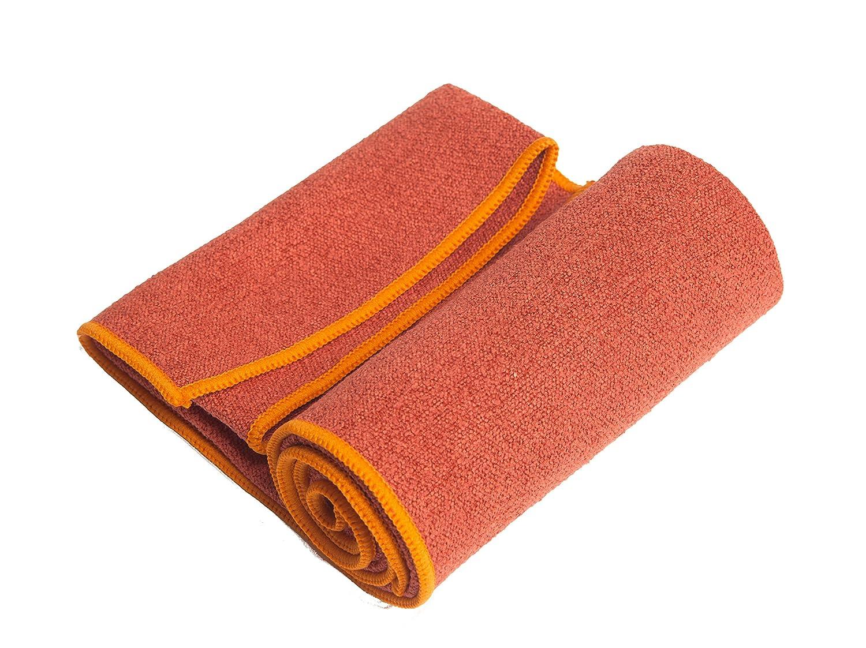 YogaRat Yoga Hand Towel - Toalla, Color Rojo, Talla UK: 15 x ...