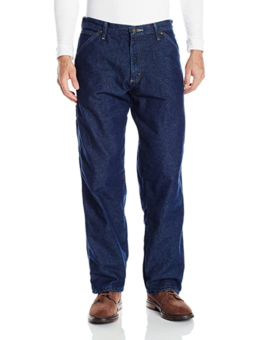 Wrangler Authentics Mens Fleece Lined Carpenter Pant at Amazon Men's  Clothing store: