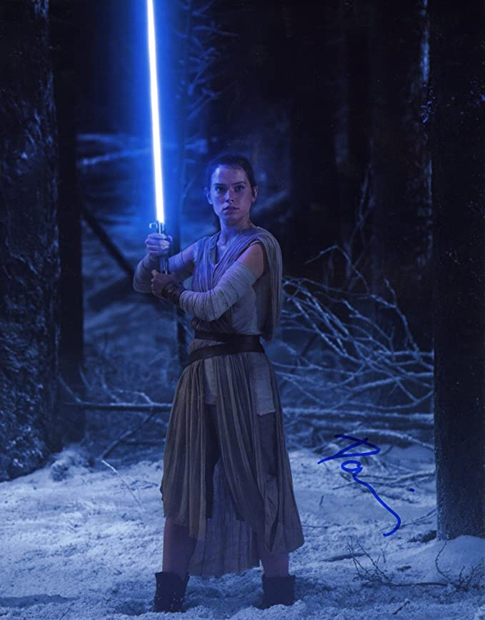 Daisy Ridley Signed - Autographed Star Wars: The Force