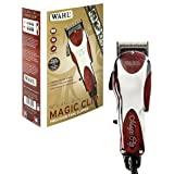 Wahl Professional 5-Star Magic Clip #8451 – Great for Barbers and Stylists – Precision Fade Clipper with Zero Overlap Adjustable Blades, V9000 Cool-Running Motor, Variable Taper and Texture Settings